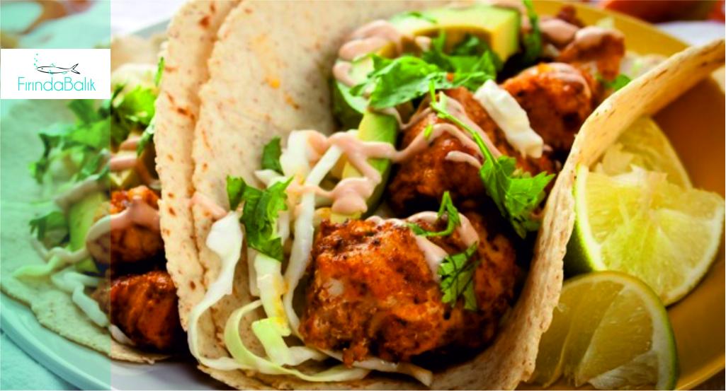Izgarada Baharatlı Palamut Taco Tarifi