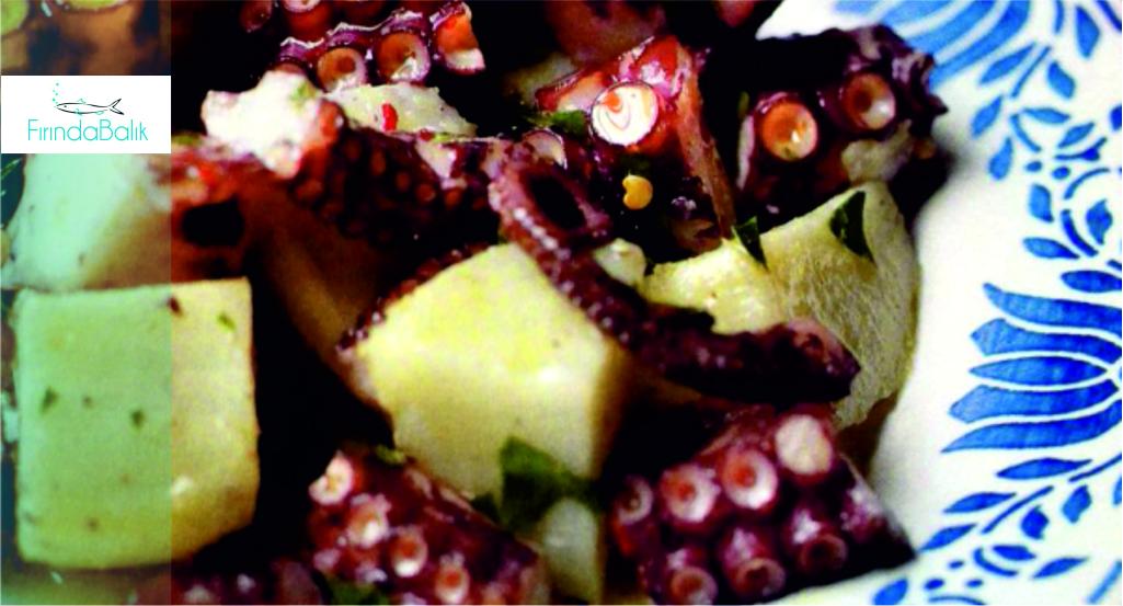 Sıcak Ahtapot Salatası